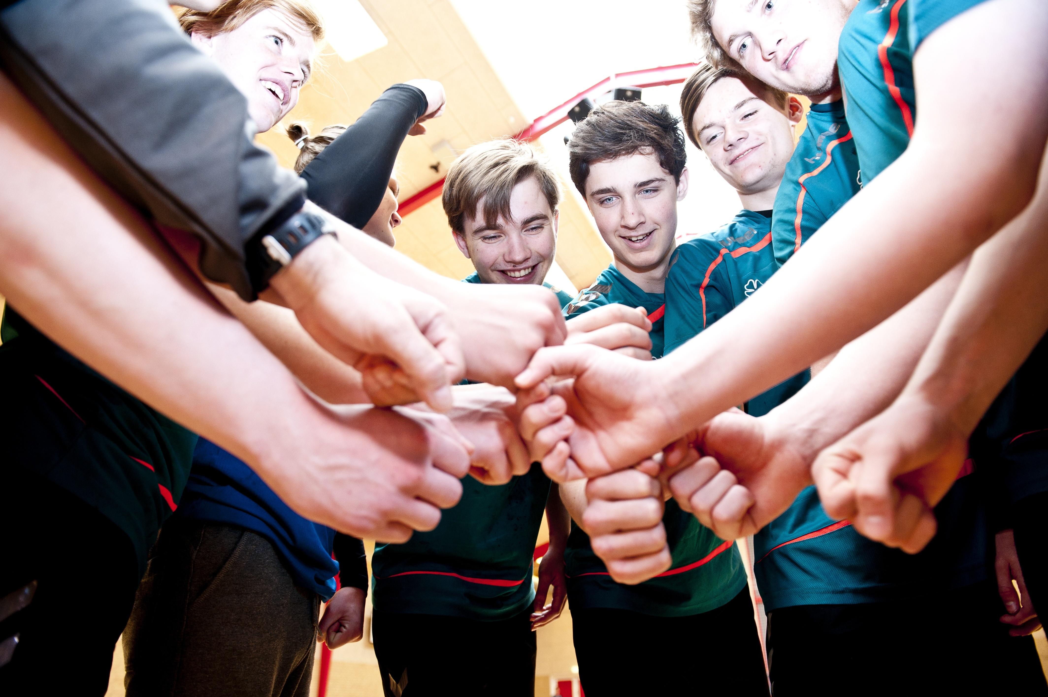 Lyngs Idrætsefterskole med Håndbold for drengene