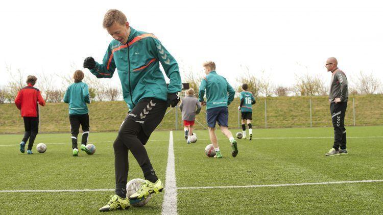 Fodbold for drenge på Lyngs Idrætsefterskole