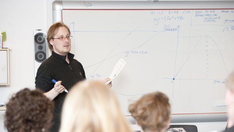 Undervisning på Lyngs Idrætsefterskole