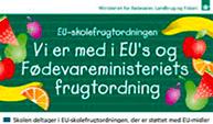 Vi er med i EU's og Fødevareministeriets frugtordning